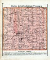 Springfield Township Ohio Map.Springfield Township Atlas Richland County 1873 Ohio Historical Map