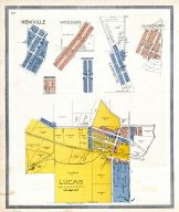 Lucas, Newville, Windsor, Pavonia, Washington, LaFayette, Olivesburg, Richland County 1896