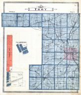 Troy Township, Millsborough, East Crestline, Richland County 1896