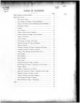 Table of Contents, Stark County 1870