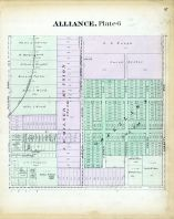 Alliance - Plate 006, Stark County 1896