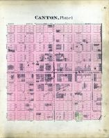 Canton - Plate 001, Stark County 1896
