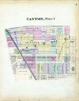 Canton - Plate 004, Stark County 1896