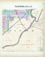 Canton - Plate 013, Stark County 1896
