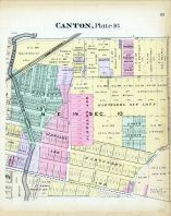 Canton - Plate 016, Stark County 1896