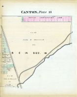 Canton - Plate 018, Stark County 1896