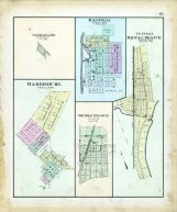 Garman's Addition, Harrisburg, Magnolia, Middle Branch, Central Middle Branch, Stark County 1896