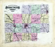 Outline Map, Stark County 1896