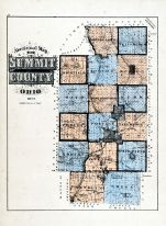 County Map, Summit County 1874
