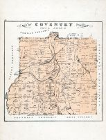 Coventry Township Summit County 1874 Ohio  map online