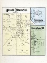 Hudson Corporation, Montrose P.O., Copley Center P.O., Summit County 1874