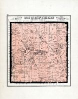 Richfield Township Atlas Summit County 1874 Ohio Historical Map