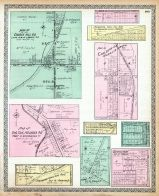 Church Hill P.O., Ohlton, Meander, Mahoning Coal, Hanna Plat, Germantown, Moorefield, Coalburgh, Longsville, Trumbull County 1899