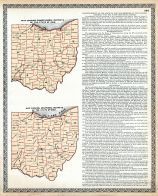 Congressional and Senatorial Districts Maps, Trumbull County 1899