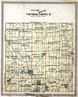 County Outline Map, Trumbull County 1899