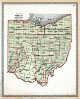 State Map - Government Surveys, Trumbull County 1899