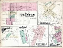 Trenton, Shanesville, Dundee, Strasburgh, Rowville, Mineral City, Tuscarawas County 1875
