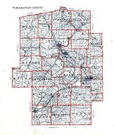County Map, Tuscarawas County 1908