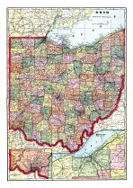 State Map, Tuscarawas County 1908