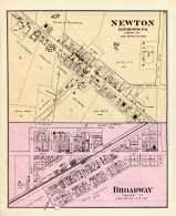 Newton, Broadway, Union County 1877