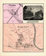 Peoria, Plain City, Union County 1877