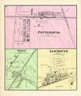 Pottersburg, Irwin, New Dover, Union County 1877