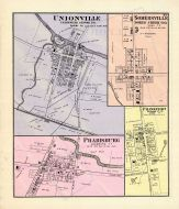 Unionville, Unionville Centre P.O., Somersville, Bokes Creek P.O., Pharisburg, Frankfort, Jerome P.O., Union County 1877