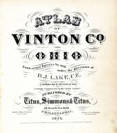 Title Page, Vinton County 1876