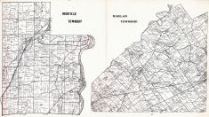 Deerfield and Harlan Township, Warren County 1903