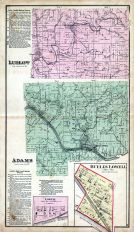 Ludlow Township, Adams Township, Lowell, Buell's Lowell, Washington County 1875