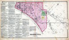 Marietta - Ward 1, Washington County 1875