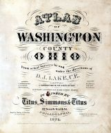 Title Page, Washington County 1875