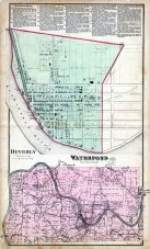 Waterford Township, Beverly, Washington County 1875