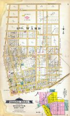 Wooster - West- Ward 2, Outline Map Wooster - City, Wayne County 1897