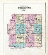 County Map-Outline, Wyandot County 1879