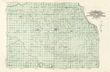 County Map, Harper County 1910