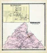 Germany, Hunterstown, Adams County 1872