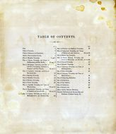 Table of Contents, Adams County 1872