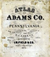 Title Page, Adams County 1872