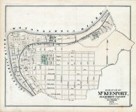 McKeesport Borough, Allegheny County 1876