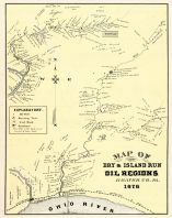 Dry and Island Run Oil Regions, Beaver County 1876