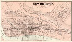 New Brighton, Beaver County 1876