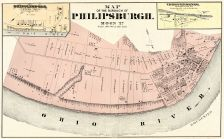Philipsburgh Borough, Shippinsport, Independence, Beaver County 1876