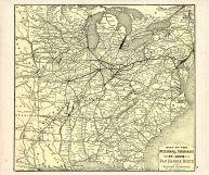 Pittsburgh, Cincinnati and St. Louis R.R. Pan Handle Route, Beaver County 1876