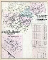 Heidelberg Township, Robesonia, Robesonia - Addition to Plan of, Berks County 1876