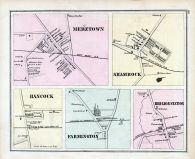 Mertztown, Shamrock, Hancock, Farmington, Red Lion Station, Berks County 1876