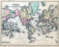 Map of the World, Bucks County 1876