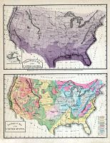 United States Maps - Climatological and Geological, Bucks County 1876