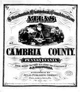 Title Page, Cambria County 1890