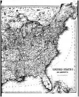 United States Map right, Cambria County 1890